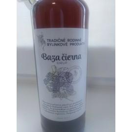 Bio bylinkový sirup Baza čierna 500ml