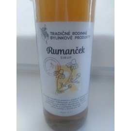 Bio bylinkový sirup Rumanček 500ml