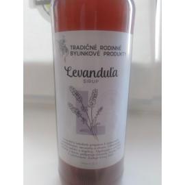 Bio bylinkový sirup Levanduľa 500ml