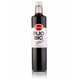 Bio sirup MALINA 500ml - bez pridaného cukru
