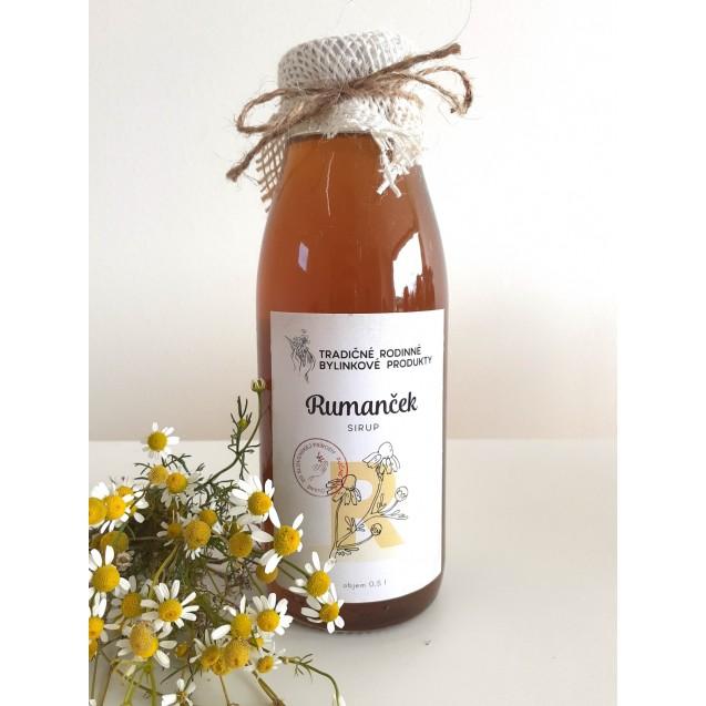 RUMANČEK KAMILKOVÝ - domáci bylinkový produkt 500ml