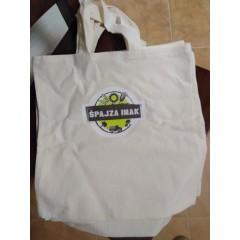 Bavlnená nákupná Hand Made taška