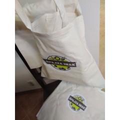 Bavlnená nákupná Hand Made taška 33 x 33cm