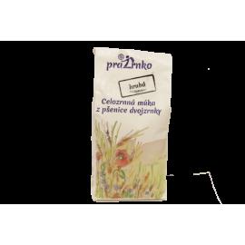 Celozrnná múka HRUBÁ z ekologicky pestovanej pšenice 1Kg