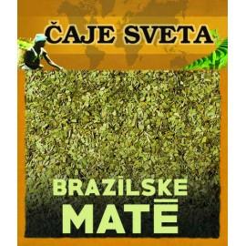 BRAZÍLSKE MATÉ - 50g - zelený sypaný čaj