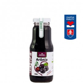 Arónia - 100% BIO ovocná šťava - 300ml